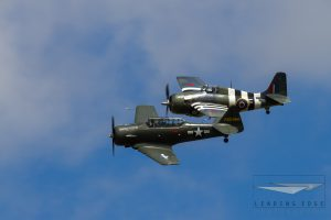 North American T6 Texan / SNJ / Harvard with a Grumman Martlet